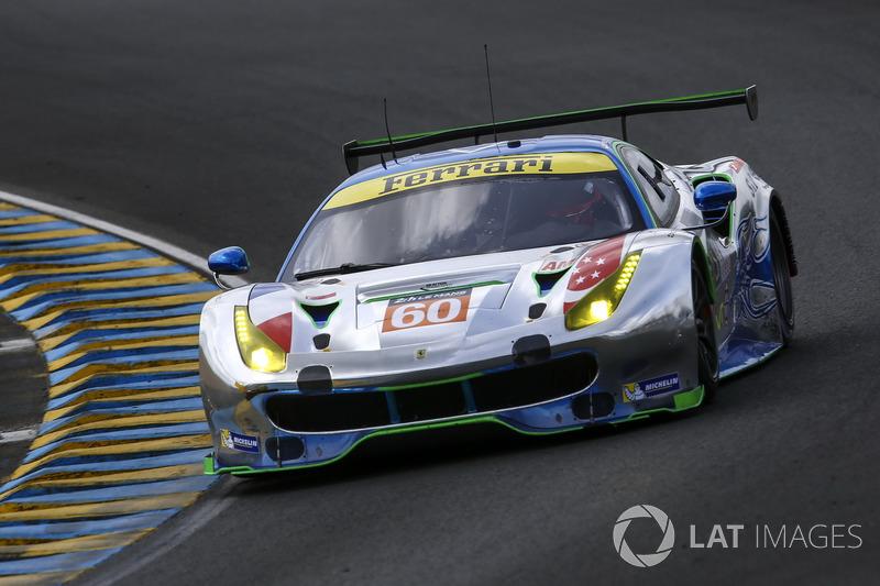 LMGTE-Am: #60 Clearwater Racing, Ferrari 488 GTE