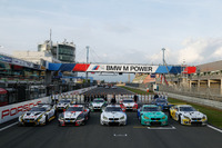 BMW M6 GT3, BMW Team Schnitzer, Schubert Motorsport, ROWE Racing, Walkenhorst Motorsport, Falken Motorsports, drivers, group picture