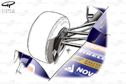 Toro Rosso STR7 scoopless front brake duct