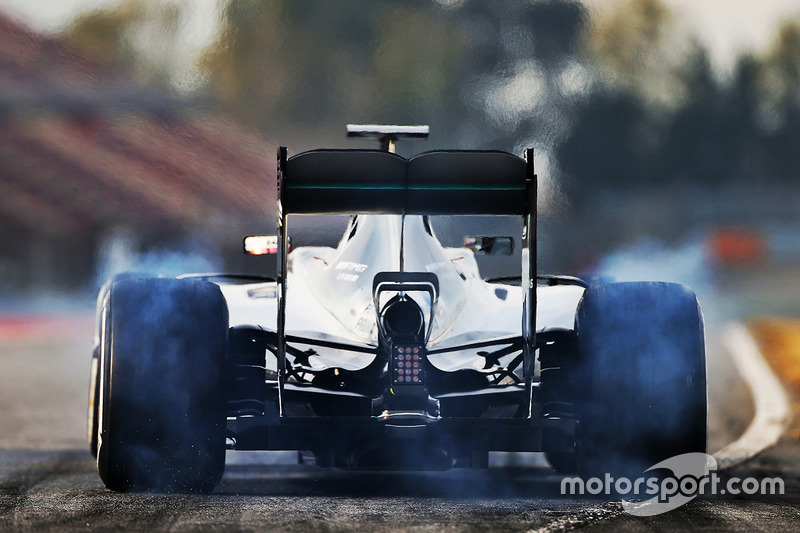 Lewis Hamilton, Mercedes AMG F1 W07 Híbrido