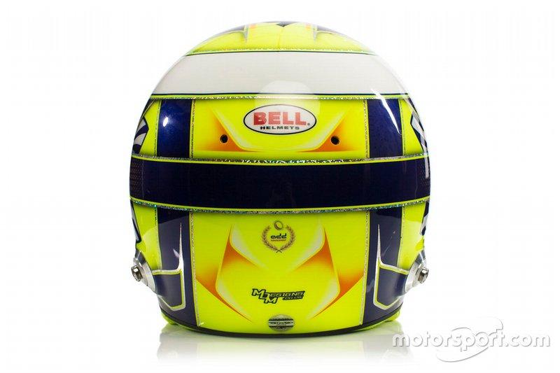 El casco de Lando Norris, McLaren