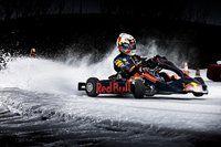Red Bull Kart sul ghiaccio