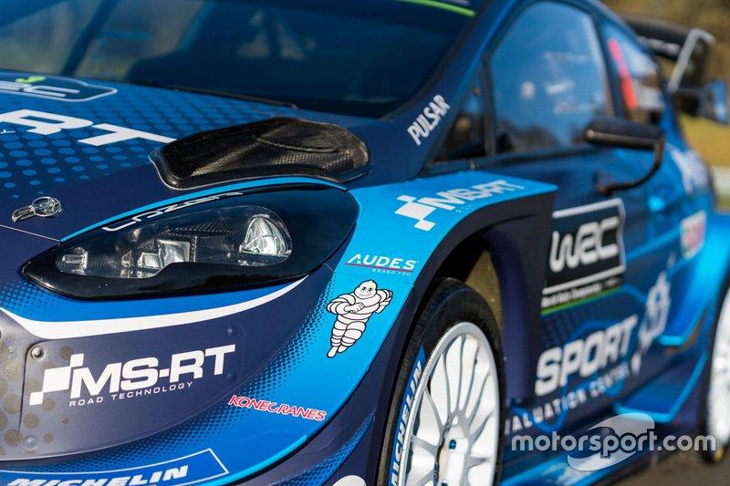 Decoración del M-Sport Ford para 2019