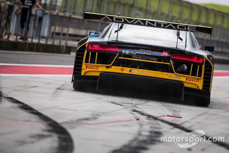 Rio Haryanto, Audi R8 LMS GT3