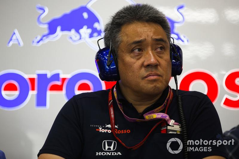 Керівник автоспортивного підрозділу Honda Motorsport Масасі Ямамото