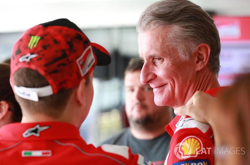 Jorge Lorenzo, Ducati Team, con Paolo Ciabatti