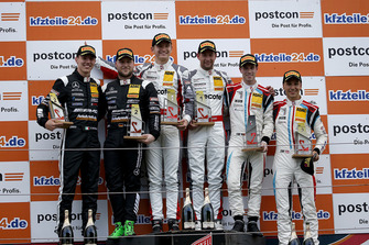 Podium: Race winners #99 Precote Herberth Motorsport Porsche 911 GT3 R: Robert Renauer, Mathieu Jaminet, second place #48 HTP Motorsport Mercedes-AMG GT3: Indy Dontje, Maximilian Buhk, third place #18 KÜS Team75 Bernhard Porsche 911 GT3 R: Adrien de Leener, Klaus Bachler