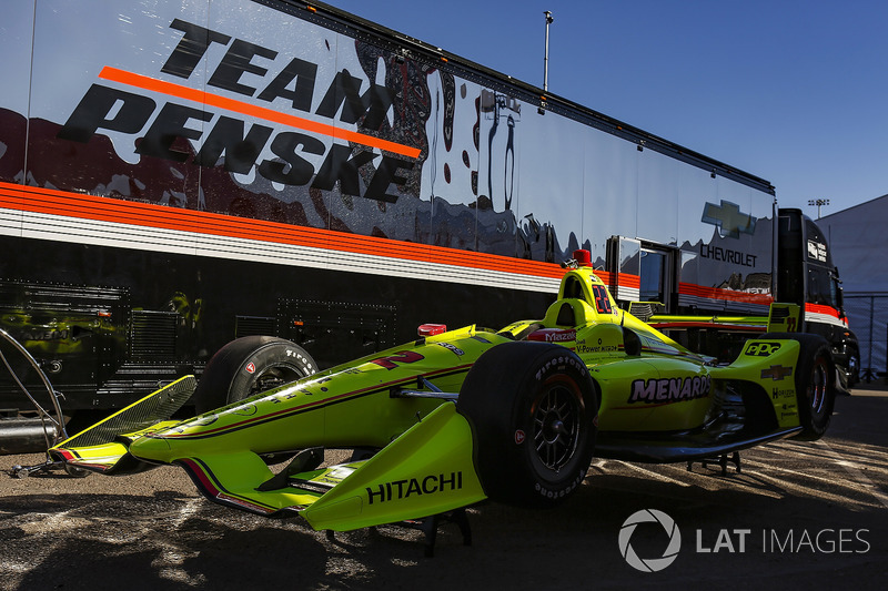 Coche de Simon Pagenaud, Team Penske Chevrolet