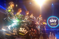 Aspectos de la presentación Sky Racing Team VR46