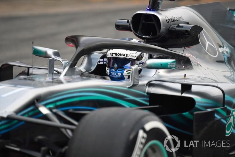 Система Halo на Mercedes AMG F1 W09