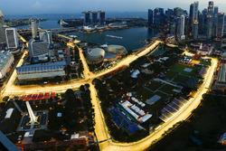 Il Marina Bay Street Circuito illuminato