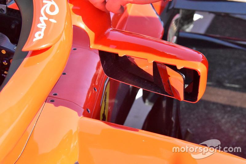 Зеркало на Ferrari SF71H