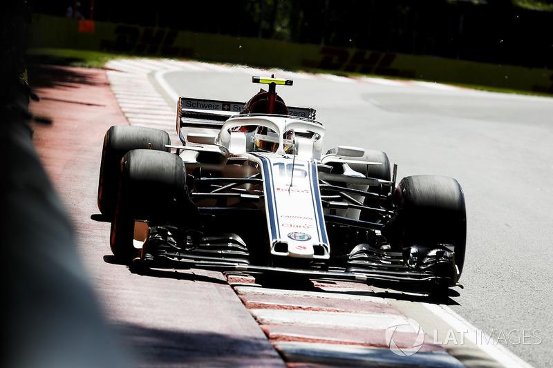 13. Charles Leclerc, Sauber C37.