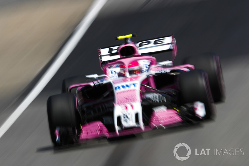 Esteban Ocon, Force India VJM11.