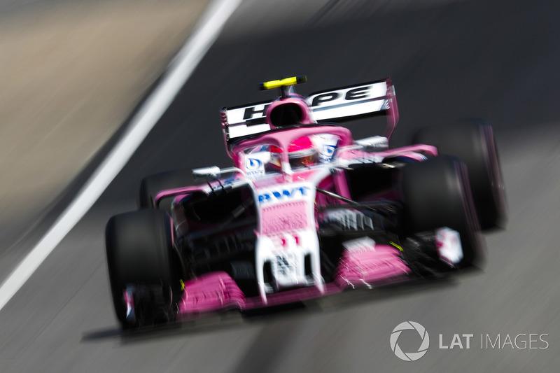 8. Естебан Окон, Force India VJM11