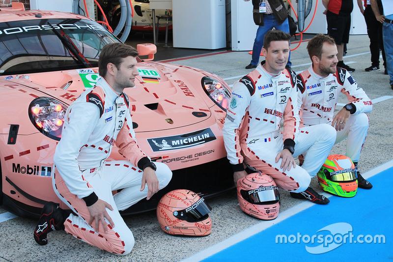 Особые ливреи #92 Porsche GT Team Porsche 911 RSR и #91 Porsche GT Team Porsche 911 RSR