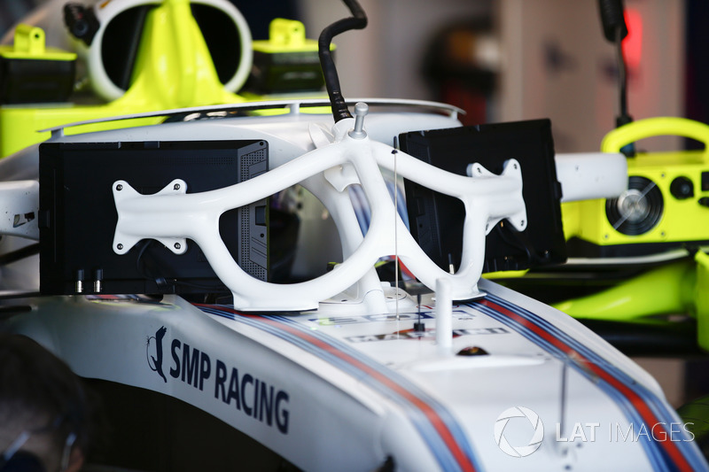Williams FW41: Monitore