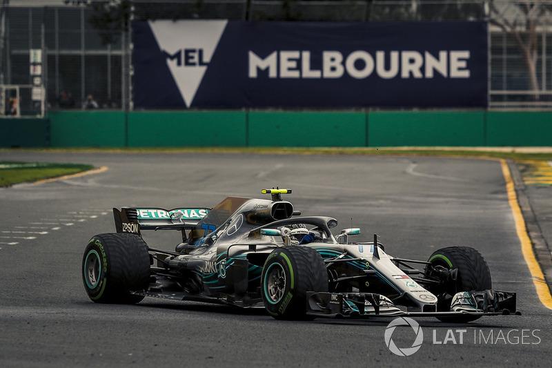 15. Валттери Боттас, Mercedes AMG F1 W09