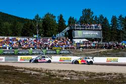 Andreas Bakkerud, EKS Audi Sport, Mattias Ekström, EKS Audi SportAudi Communications Motorsport