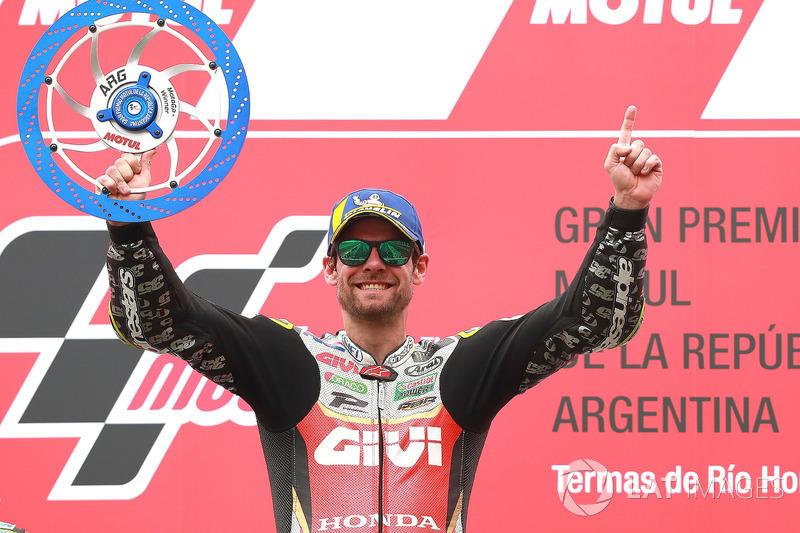 Ganador de la carrera Cal Crutchlow, Team LCR Honda