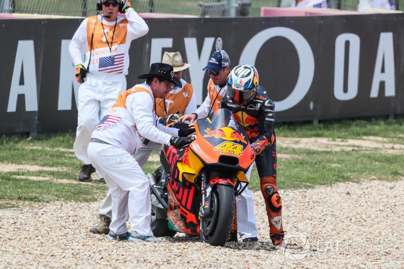 L'accident de Pol Espargaro, Red Bull KTM Factory Racing