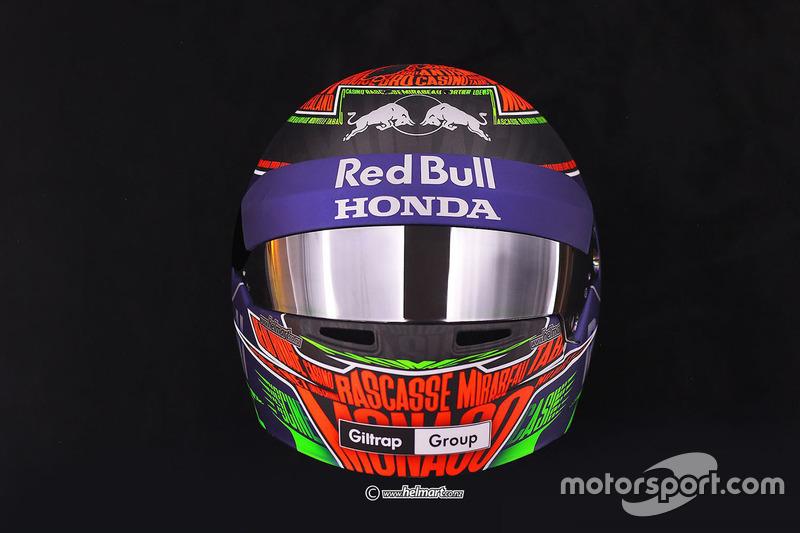 Helmdesign: Brendon Hartley