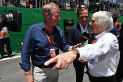 Martin Brundle, Sky TV and Bernie Ecclestone,, Joao Doria, Mayor of Sao Paulo