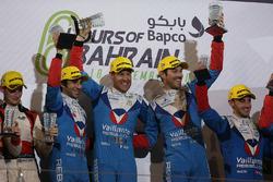 Podium LMP2: first place Julien Canal, Nicolas Prost, Bruno Senna, Vaillante Rebellion