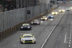 Startaction, Edoardo Mortara, Mercedes-AMG Team Driving Academy, Mercedes - AMG GT3 leads