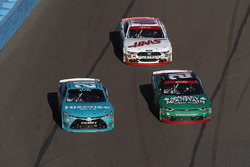 Erik Jones, Joe Gibbs Racing Toyota, Daniel Hemric, Richard Childress Racing Chevrolet, Cole Custer, Stewart-Haas Racing Ford