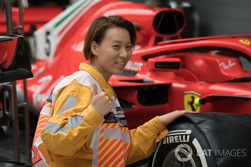 Marshal and Ferrari SF71H