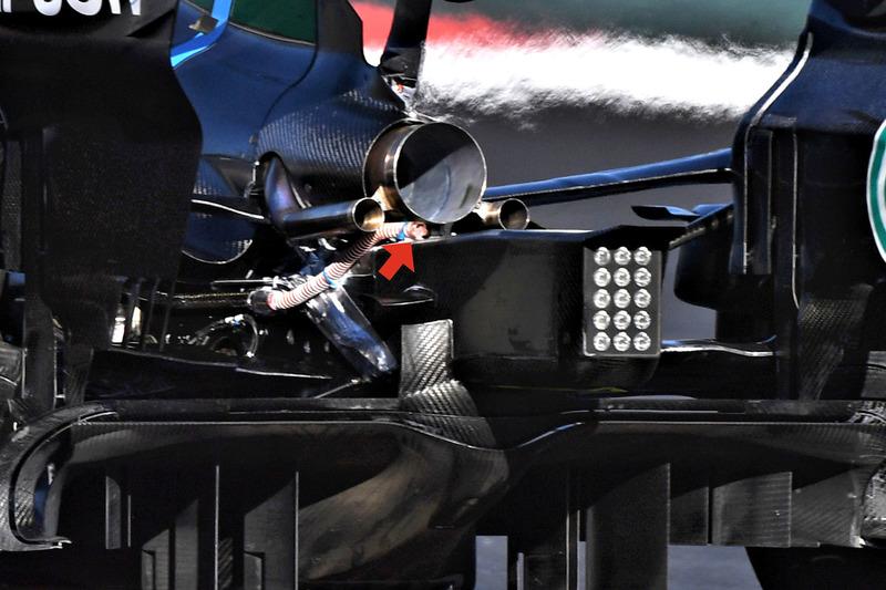 Mercedes-AMG F1 W09, detalle trasero