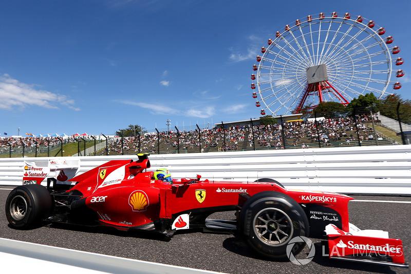 23º Felipe Massa - 13 carreras - De Hungría 2012 a China 2013 - Ferrari