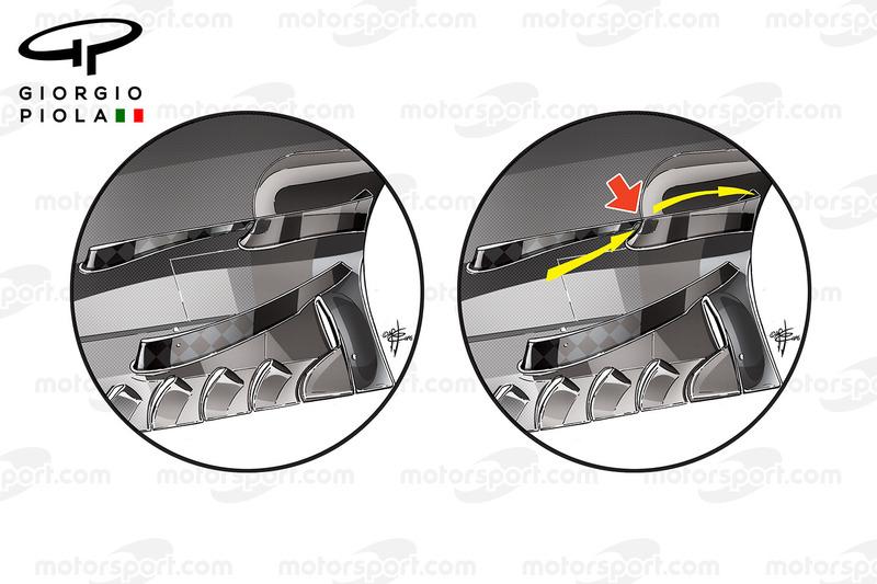 Toro Rosso STR11 floor details, German GP