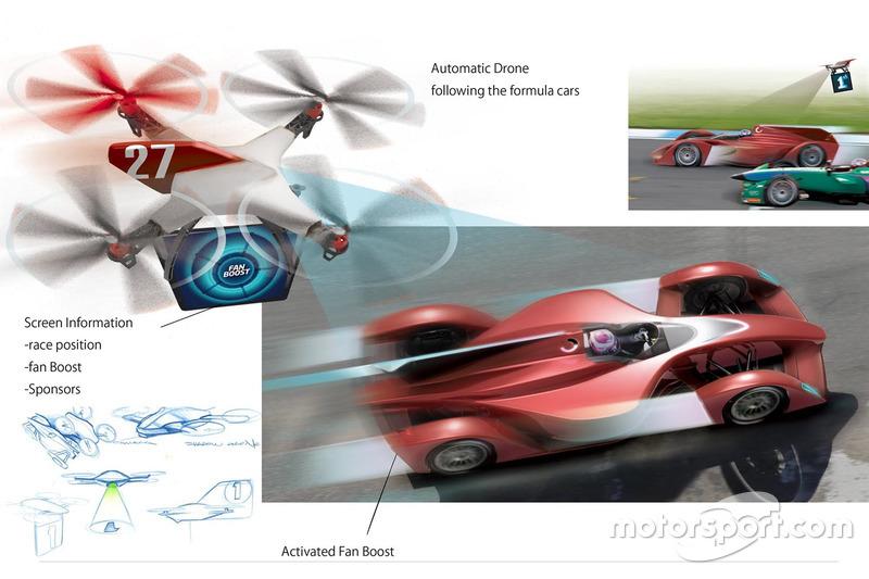 Proposta della Dome di Ken Okuyama per la Formula E del futuro