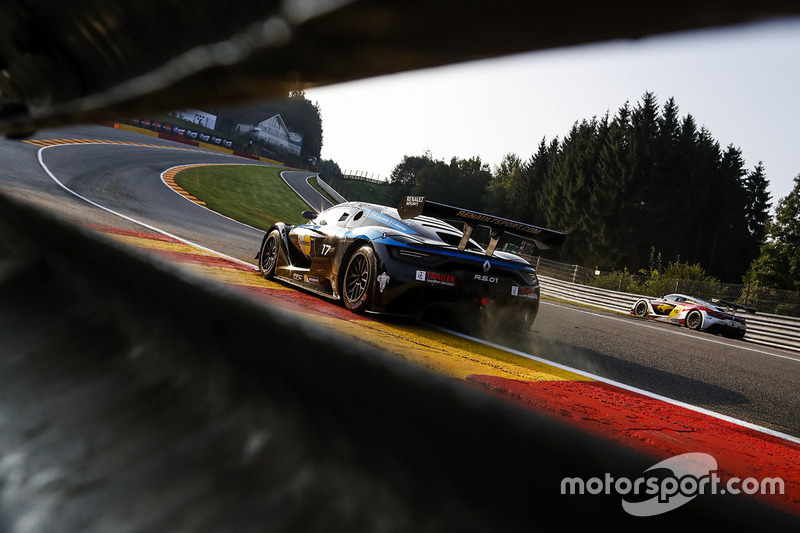 #17 Team Duqueine, Renault RS01: Lonni Martins, Philippe Bourgois