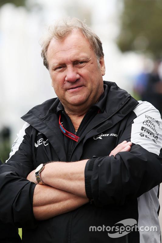 Robert Fernley, Sahara Force India F1 afgevaardigd teambaas