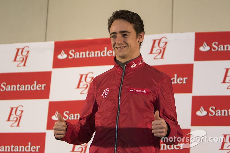 Conferencia de Esteban Gutiérrez, Haas F1 Team