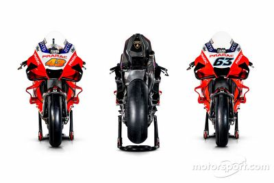 Pramac Racing livery unveil