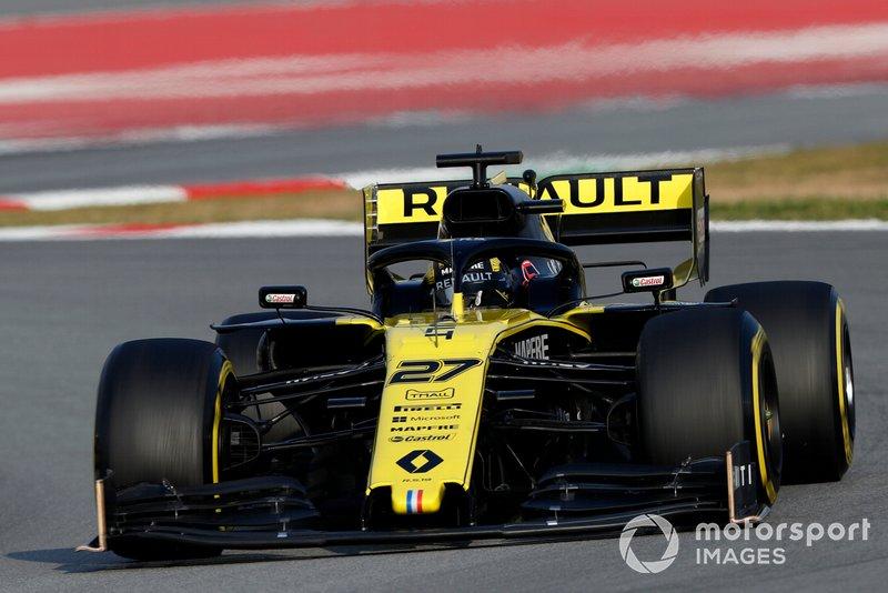 5º Nico Hulkenberg, Renault F1 Team R.S. 19, 1:16.843 (gomme C5, giorno 8)