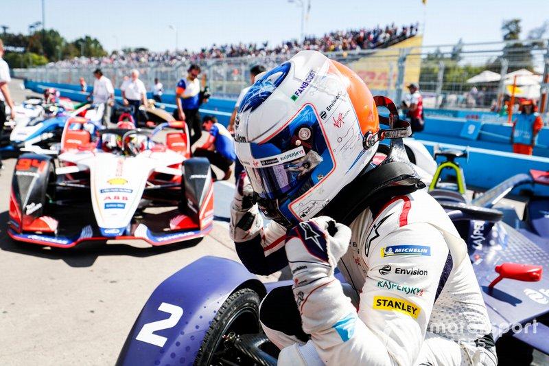 El ganador Sam Bird, Envision Virgin Racing, Audi e-tron FE05