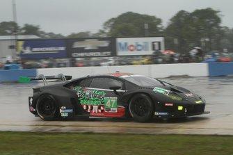 #47 Precision Performance Motorsports Lamborghini Huracan GT3: Brandon Gdovic, Don Yount,