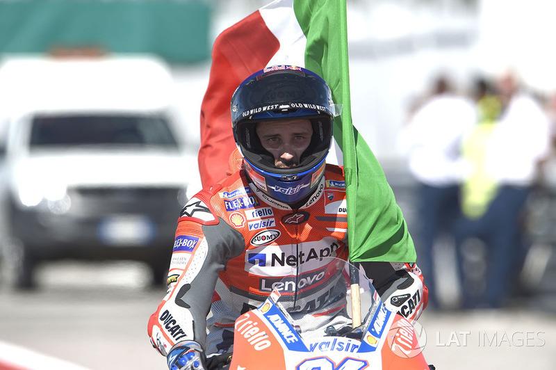 Pemenang MotoGP San Marino, Andrea Dovizioso, Ducati Team