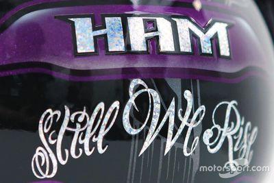 Livrea del casco di Lewis Hamilton