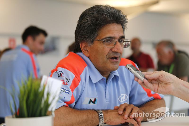 Michel Nandan, Takım Patronu Hyundai Motorsport