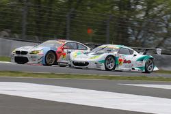 #7 BMW Team Studie BMW M6 GT3: Jorg Muller, Seiji Ara and #2 Cars Tokai Dream28 Lotus Evora: Kazuho Takahashi, Hiroki Katoh