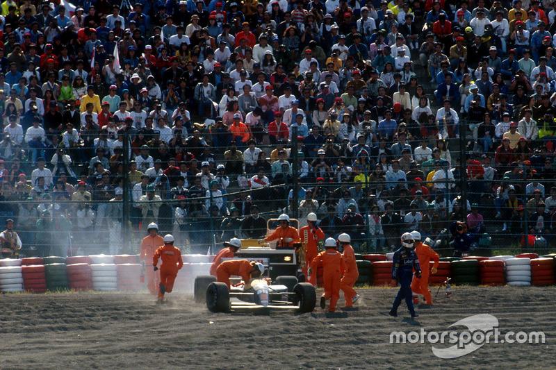Nigek Mansell, Williams en la grava