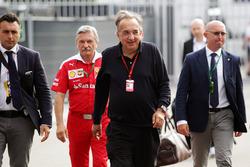 Серджио Маркионе, президент Ferrari и генеральный директор Fiat Chrysler Automobiles