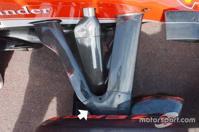 Ferrari SF16-H, Vorderradaufhängung
