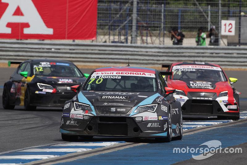 Mato Homola, B3 Racing Team Hungary, SEAT León TCR